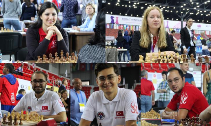 2021 FIDE Dünya ve FIDE Kadınlar Dünya Kupası Eşleştirmeleri yapıldı.