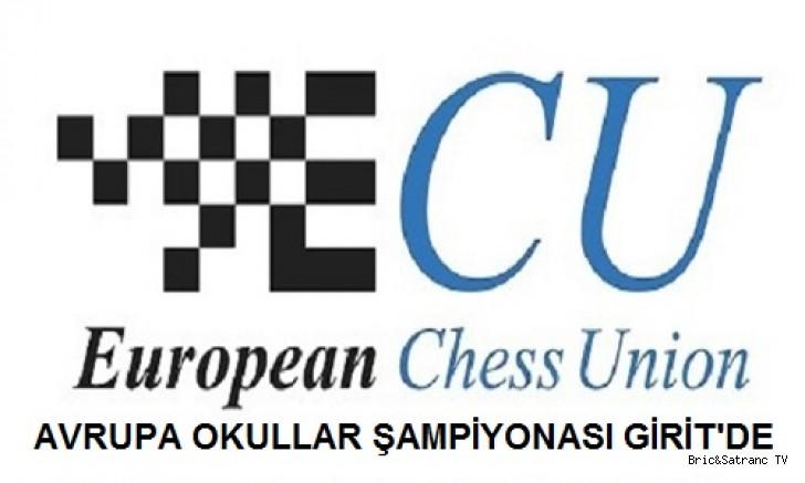 Avrupa Okullar Satranç Şampiyonası Girit'de!