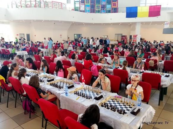Avrupa Okullar Satranç Şampiyonasında 3.Tur geride kaldı!