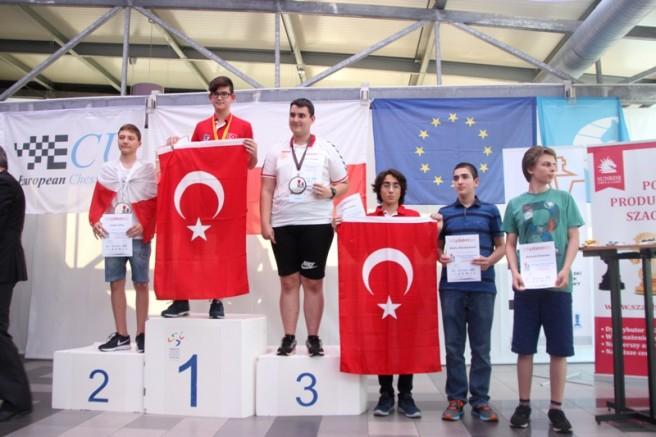 Avrupa Okullararası Satranç Turnuvasında 9 madalya!