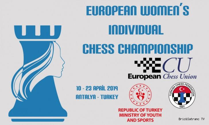 Avrupa Satranç Kadınlar Şampiyonası Antalya'da!