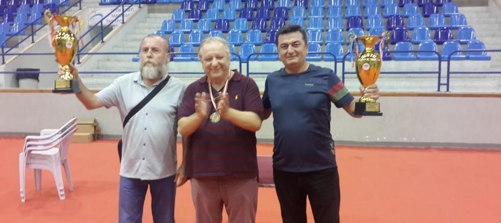 Batı Akdeniz İkili Şampiyonası'nı Doğan Üzüm-Suat Aksoy kazandı.