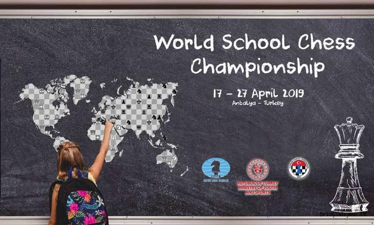 Dünya Okullar Satranç Şampiyonası Antalya'da!