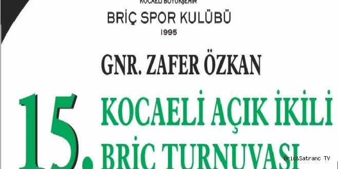 Genaral Zafer Özkan Turnuvası 3 Kasımda!