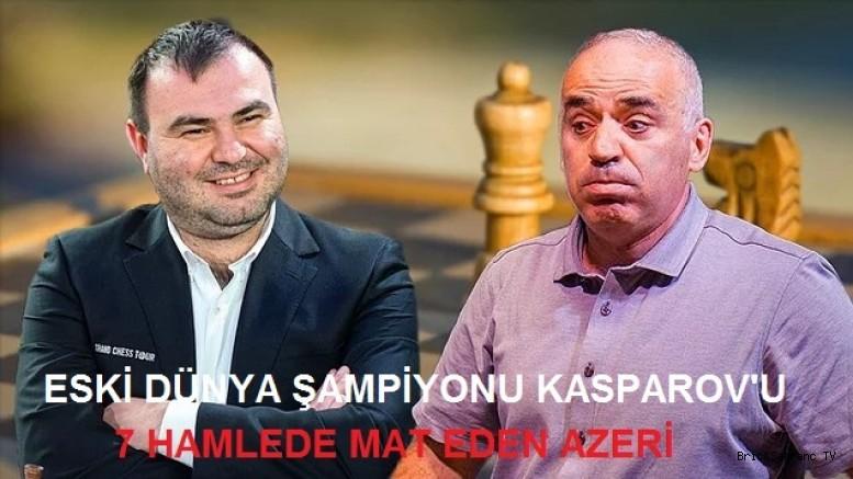 Mamedyarov Kasparov'u 7 Hamlede Yendi!