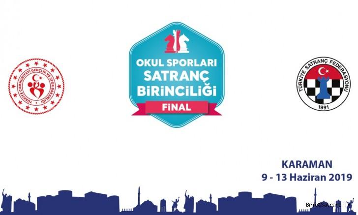 Okul Sporları Satranç şampiyonası 9-13 Haziran'da!