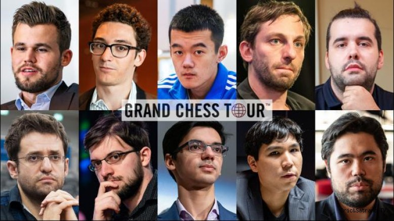 Satranç Dünya Şampiyonu Magnus Carlsen Grand Chess de seri başı