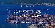 2018 Akdeniz Açık ikili 23-24 Ekimde!