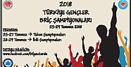 2018 Gençler Şampiyonası 25-27 Temmuzda