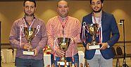 Şampiyon IM Gülbaş, İkinci GM Erdoğdu, Üçüncü FM Bağlan