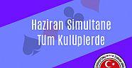 Türkiye çapında 30 Haziran 2018 de Simultune !