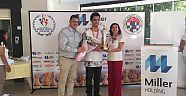 Türkiye Gençler şampiyonu FM Deniz ÖZE