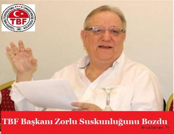 TBF Başkanı Zorlu Suskunluğunu Bozdu!