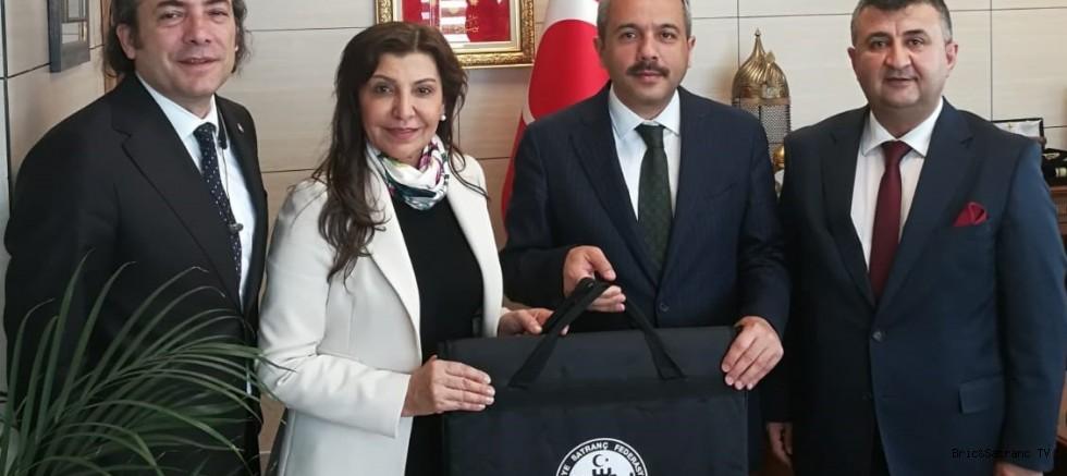 TSF Başkanı Gükız Tülay'dan Bakan Ziyareti!