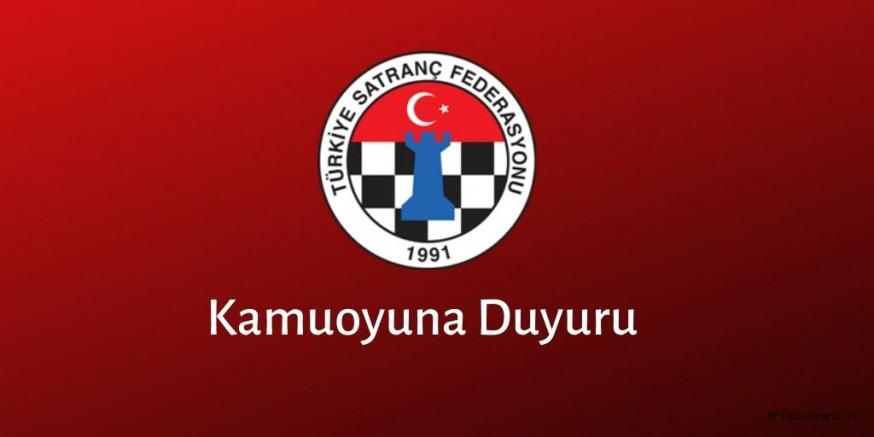 TSF'den Kamuoyuna Duyuru!