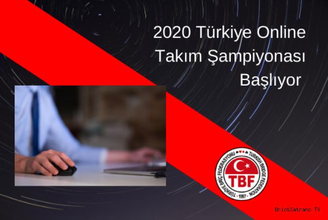 Türkiye 2020 Online Takımlar Şampiyonası Yarın Başlıyor!