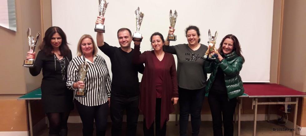 Türkiye Kadın Takımlar Şampiyonu Bordo!