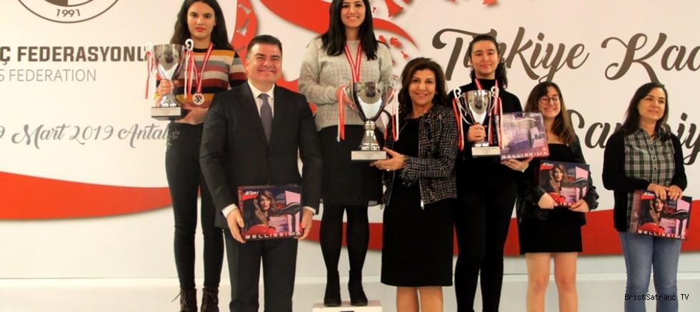 Türkiye Kadınlar Satranç Şampiyonası sona erdi!