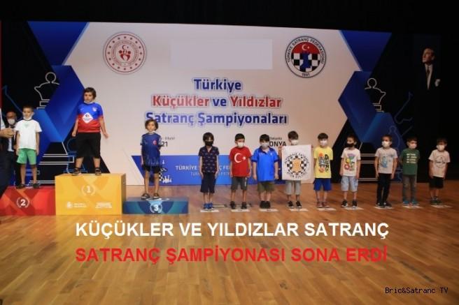 Türkiye Küçükler ve Yıldızlar Satranç Şampiyonası Sona Erdi!