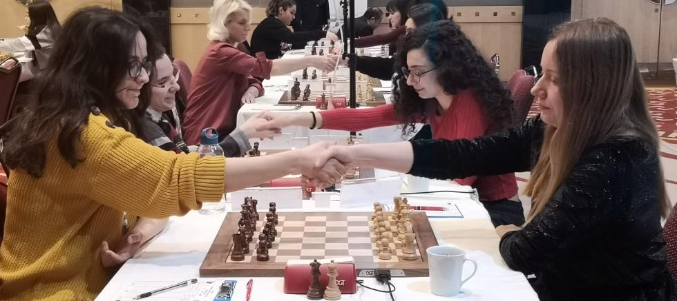 Türkiye  Kadınlar Satranç  Şampiyonası devam Ediyor!