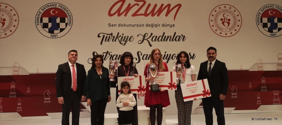 Türkiye Kadınlar Satranç Şampiyonu IM Atalık!