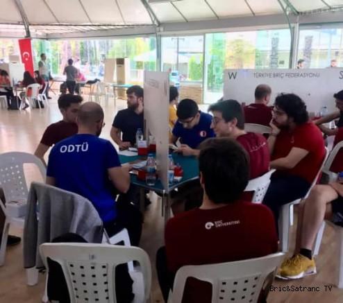 Türkiye Üniversiteler arası Briç Şampiyonası Antalya'da başladı!