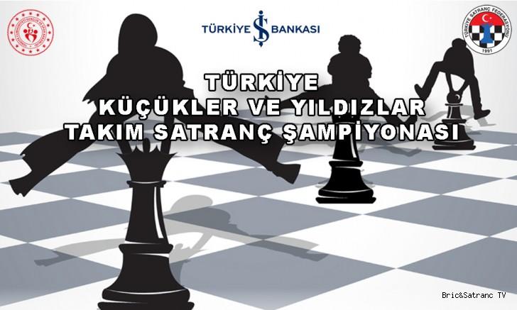 Türkiye Yıldızlar Satranç Takım Şampiyonası Çorum'da!