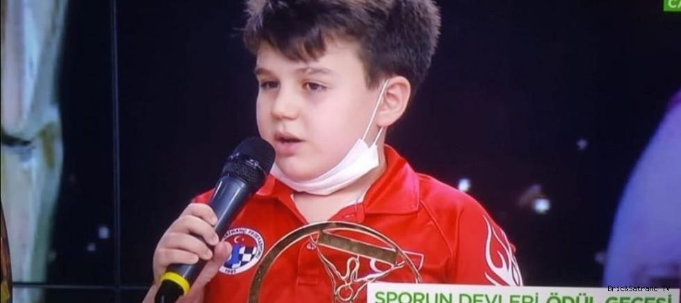 Yağız Kaan Erdoğmuş Yılın Sporcusu!