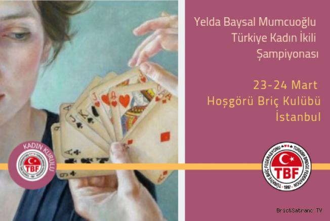 Yelda Baysal Mumcuoğlu Türkiye Kadınlar İkili Şampiyonası sona erdi!