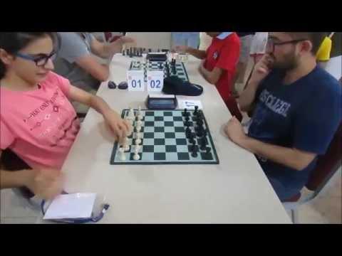 Çeşme Open Yıldırım Satranç Turnuvası 1.Tur